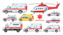 Ambulance Car Vector Emergency...
