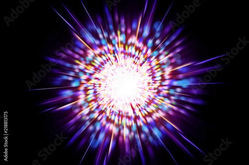 Obraz white light of space - fototapety do salonu