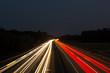 Autobahn Photographieren im dunkeln