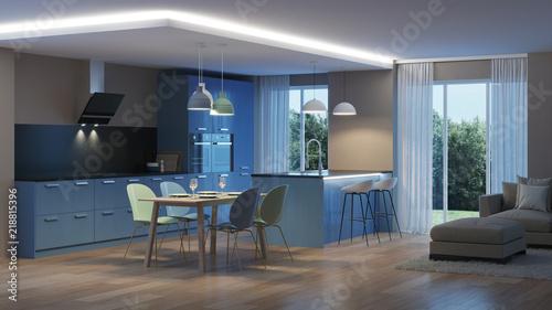 Fotografía  Modern house interior