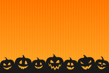 Halloween Background With Funn...