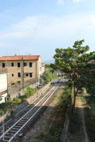 Staande foto Spoorlijn Ferrovia Porrettana