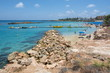 Famous Fig Tree bay and beach in Protaras, Cyprus