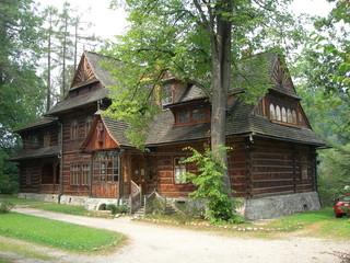 Drewniana willa Koliba, Zakopane, Polska