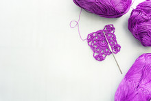 Crochet Hook And Wool. Crochet...