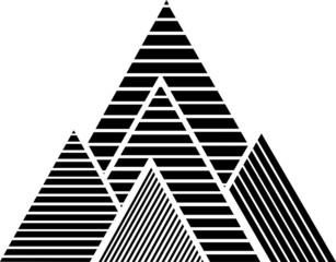 FototapetaBerge Streifen Design