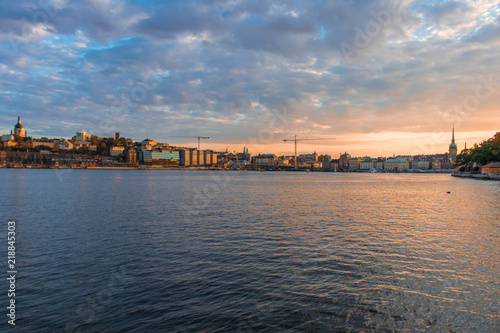 Staande foto Stockholm Stockholm's evenings