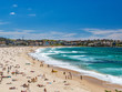 Coogee Beach on a Summer Day in Australia