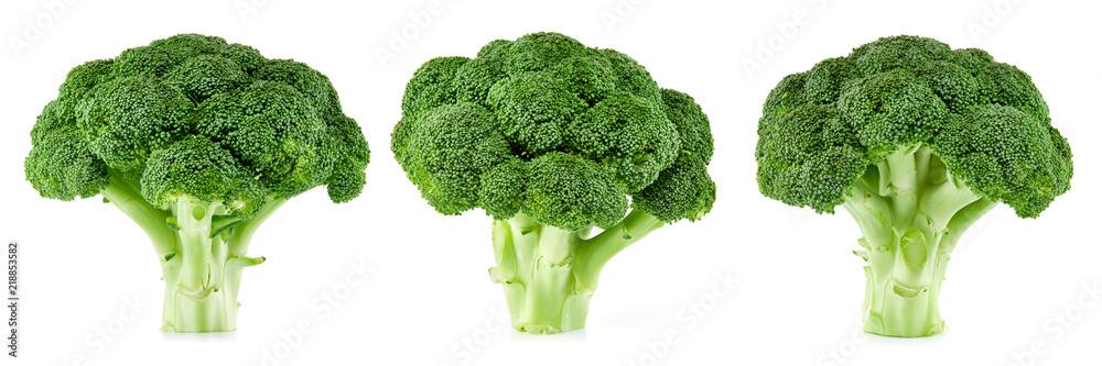 Fototapety, obrazy: raw broccoli isolated