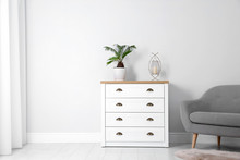 Chest Of Drawers In Stylish Li...