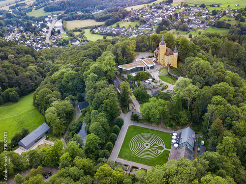 Foto op Aluminium Luchtfoto Aerial view from the castle Homburg in Nuembrecht-Germany