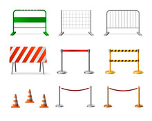 Temporary Fencing Barrier Real...