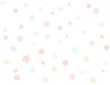 Circles And Stars Pattern Back...
