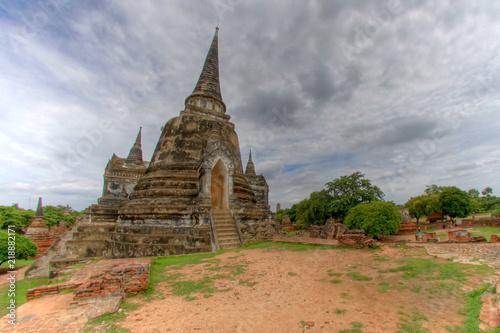 Wat Phra Si Sanphet - Ayuthaya, Thailand