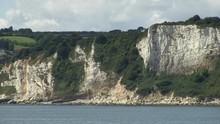 Chalk Cliffs Of Seaton Bay In ...