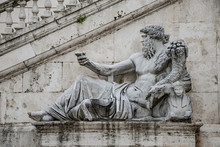 Statue Of Neptune At Piazza De...