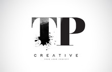 TP T P Letter Logo Design With...