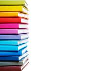 Books. A Lot Of Books With Bri...