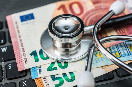 Fotografie, Obraz  Gesundheitskosten