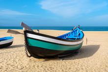 Fishing Boat. Nazare, Portugal