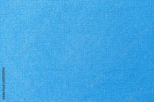Fotobehang Stof Blue fabric texture