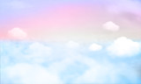 tło nieba i pastelowy kolor. EPS 10 - 218931919
