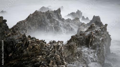 Rock Giens peninsula Tablou Canvas