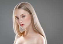 Beautiful Woman Face Portrait ...
