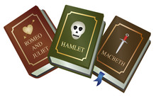 Shakespeare Play Book Set - Romeo And Juliet, Hamlet And Macbeth