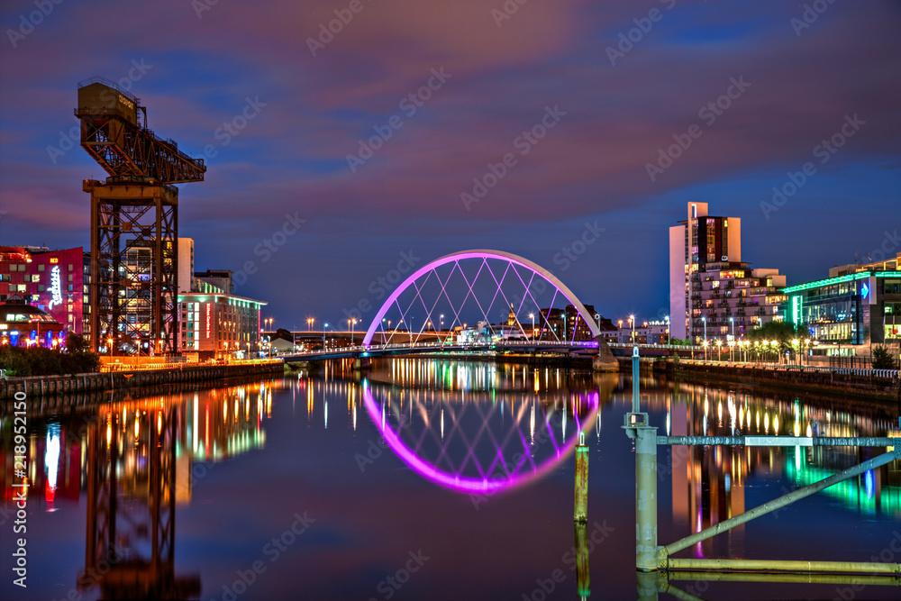 Fototapety, obrazy: Clyde Arch, Glasgow
