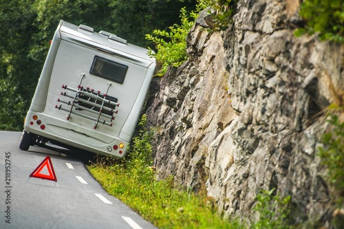 RV Camper Van Accident