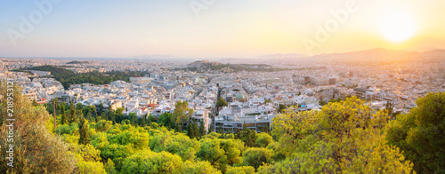 In de dag Athene Cityscape of beautiful Athens - Greece