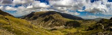 Panoramic View Of The Snowdonia Nation Park