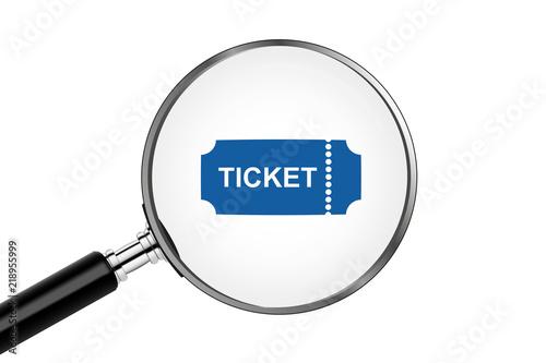 Fotografía  Lupe sucht/findet - Ticket