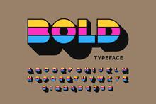 Modern Bold Typeface Font Desi...