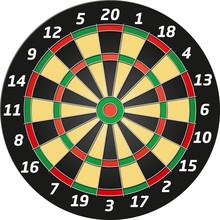 Vector Graphic Dartboard