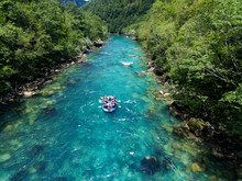 Rafting On The Beautiful Moun...
