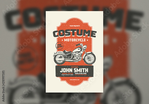 motorcycle event flyer layout buy this stock template and explore