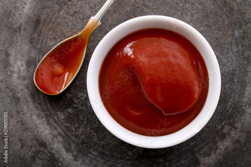 Fotografía fresh tomato ketchup