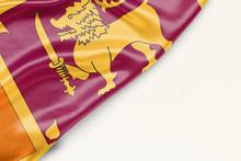 Sri Lanka Flag With A Place Fo...