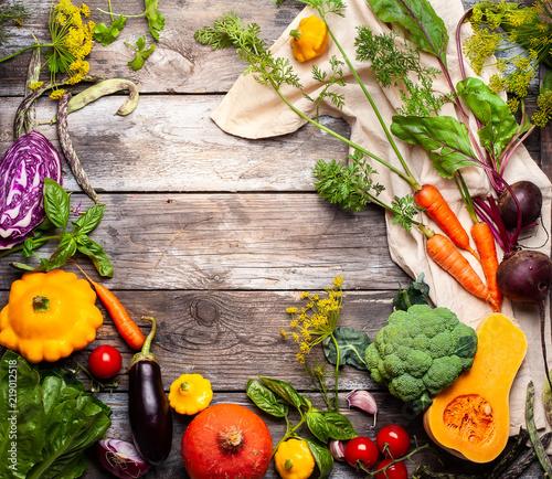 Keuken foto achterwand Groenten Assorted fresh vegetables