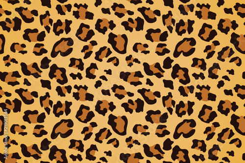 Photographie Leopard seamless pattern. Animal print. Vector background.