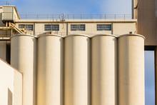 Factory Grain Silos Food Produ...