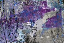 Layered Paints Abstract Textured Background