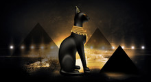 Egyptian Asbstract Background,...