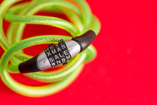 Plastic Covered Bike Cable And...