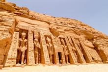 Abu Simbel, The Rock Temple In...
