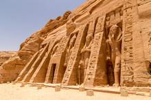 Abu Simbel, The Rock Temple In...