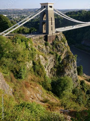 Suspension bridge de Clifton Canvas Print