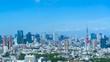 東京風景・タイムラプス・夏